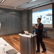 Paul Wiener addresses the Airfuel Members Meeting